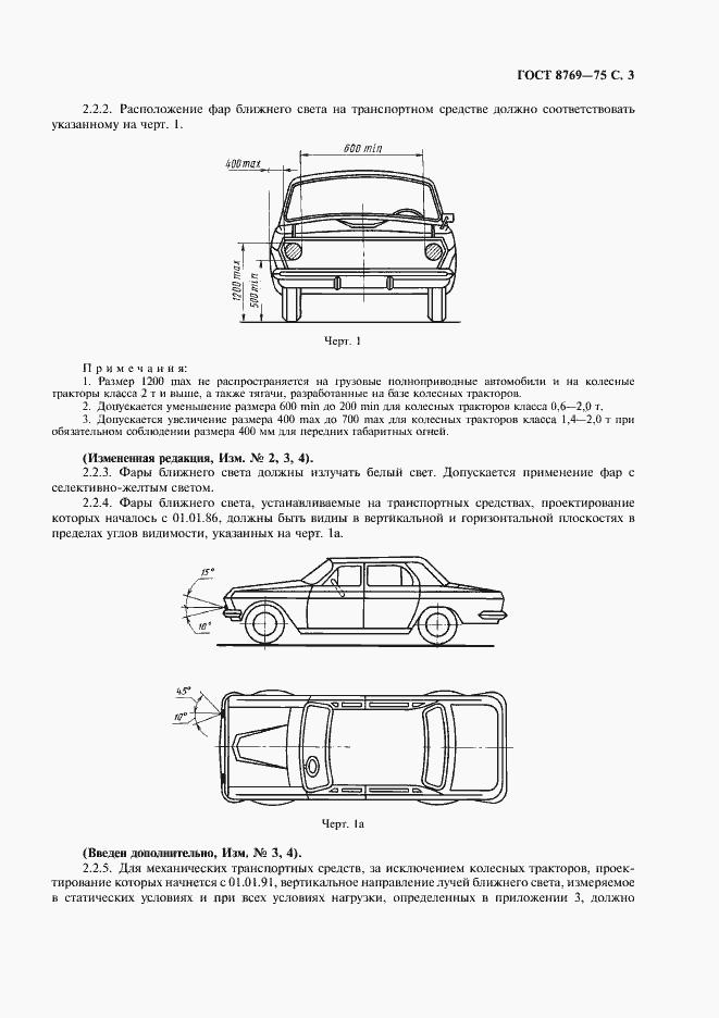 гост внешние световые приборы автомобиля